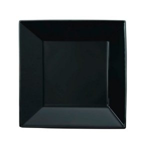 Prato Fundo Quartier Black 21 x 21cm | Oxford