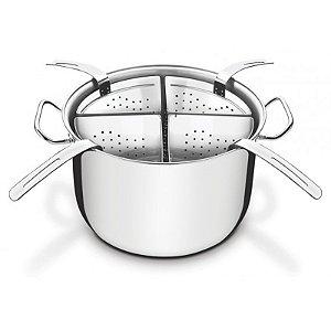 Cozi-Pasta Aço Inox 4 Recipientes Ø 30 x 20,2 cm | Tramontina