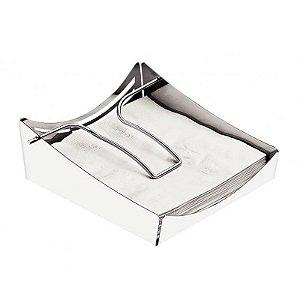 Porta Guardanpos Aço Inox Ciclo 19,1 x 17,9 x 6,7 cm | Tramontina
