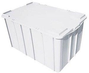 Tampa Plástica Branca Para Caixa 38 Lts - BOLIVAR