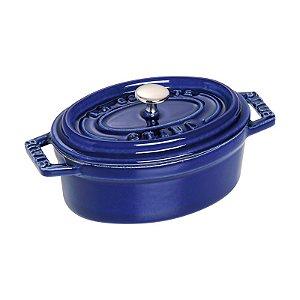Caçarola Oval Ferro Fundido 11 cm Azul Marinho | Staub