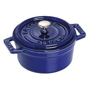 Caçarola Redonda Ferro Fundido 24 cm Azul Marinho | Staub