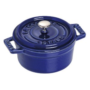 Caçarola Redonda Ferro Fundido 34 cm Azul Marinho | Staub