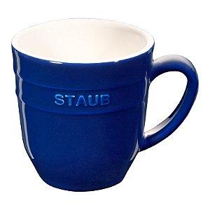 Caneca Cerâmica 350 ml Azul Marinho | Staub