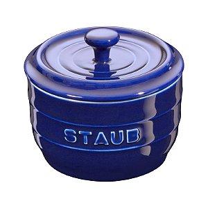 Porta Sal Cerâmica 11 cm Azul Marinho | Staub