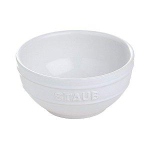Bowl Cerâmica Esmaltado Branca 12 cm 0,4 L | Staub