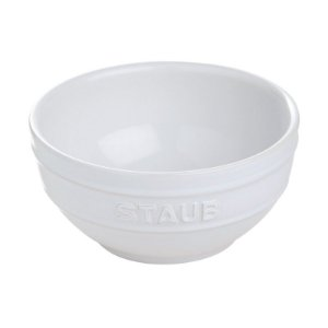 Bowl Cerâmica Esmaltada Branca 17 cm 1,25 L | Staub