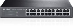Switch TP-LINK Mesa/Rack 24 Portas Gigabit TL-SG1024D