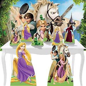 Combo Diamante Enrolados Rapunzel Festa Totem