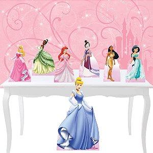 Combo Festa Prata Princesas Disney