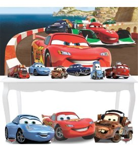 Combo Ouro Carros Painel Display Totem Festa