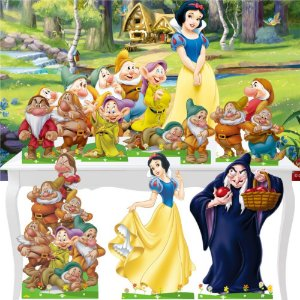 Combo Ouro Branca De Neve Painel Totem Display
