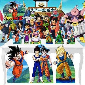 Combo Festa Premium Painel Totem Dragon Ball Z