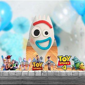 Kit 7 Peças Totem Display Chao Mdf Toy Story 4