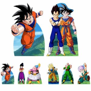 Kit 8 Totem Display Dragon Ball Z Festa Aniversário