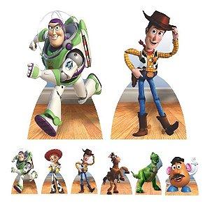 Kit 8 Totem Display Mdf Toy Story Festa Aniversário