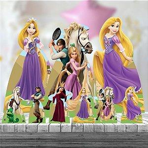 Kit 9 Festa Totem Enrolados Rapunzel Princesa