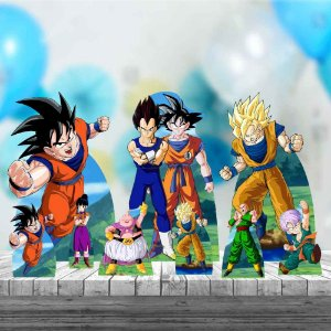 Kit 9 Totem Display Festa Dragon Ball Z Mdf