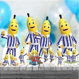 Kit 9 Totem Festa Display Bananas De Pijamas
