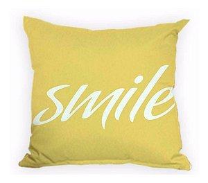 Capa De Almofada Smile Decoração ALA-37