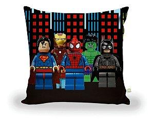 Capa De Almofada Lego Herois Decoração ALI-65
