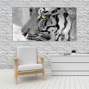 Quadro Mosaico Decoração Animal 121x65 com 3 Peças Mod 32