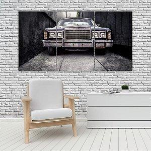 Quadro Mosaico Decoração Carros 121x65 com 3 Peças Mod 05