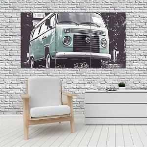 Quadro Mosaico Decoração Carros 121x65 com 3 Peças Mod 11