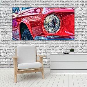 Quadro Mosaico Decoração Carros 121x65 com 3 Peças Mod 12
