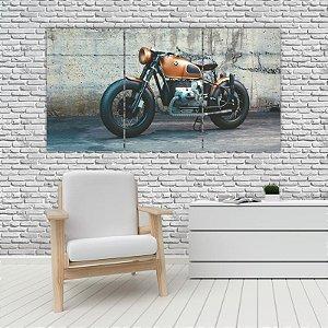 Quadro Mosaico Decoração Carros 121x65 com 3 Peças Mod 19