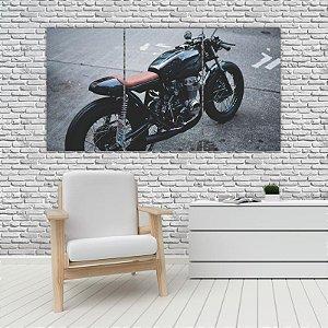 Quadro Mosaico Decoração Carros 121x65 com 3 Peças Mod 30