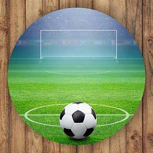 Painel Tecido Redondo Futebol Decoração Festa 04