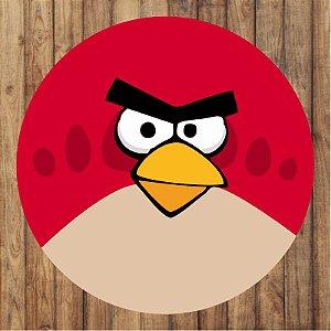 Painel Tecido Redondo Angry Birds Decoração Festa 04