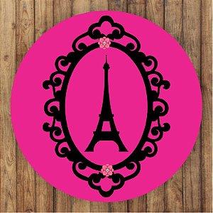 Painel Tecido Redondo Barbie Decoração Festa 03