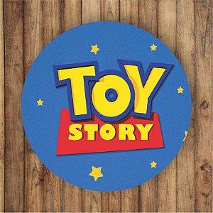 Painel Tecido Redondo Toy Story Decoração Festa 01