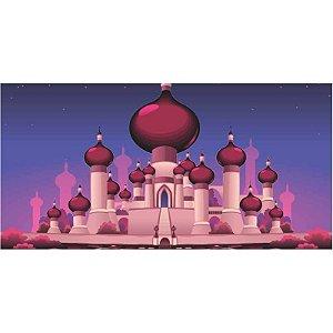 Painel em Lona Aladdin e Jasmine 02