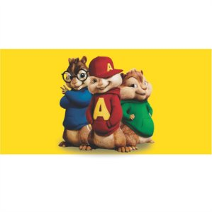 Painel em Lona Alvin e os Esquilos 02