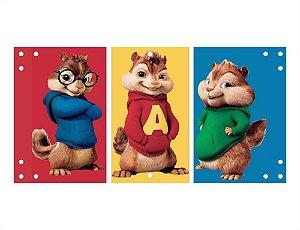 Painel em Lona Alvin e os Esquilos 01