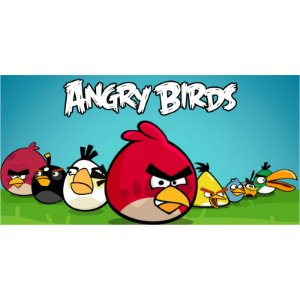Painel em Lona Angry Birds 01