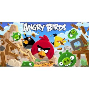 Painel em Lona Angry Birds 02