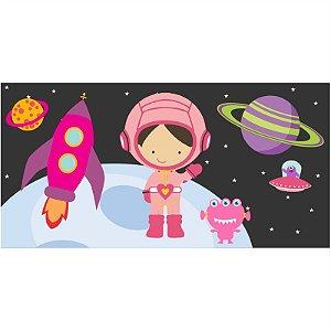 Painel em Lona Astronauta Menina 01