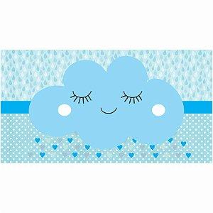 Painel em Lona Chuva De Benção Azul 01
