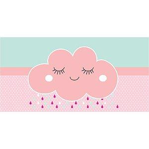 Painel em Lona Chuva De Benção Rosa 01