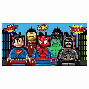 Painel em Lona Lego Herois 01