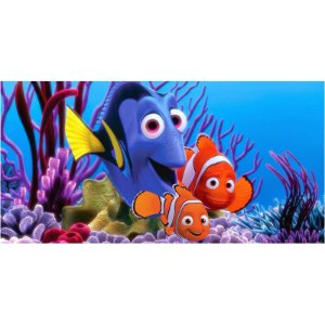 Painel em Lona Procurando Nemo 01