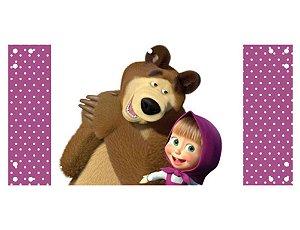 Painel em Lona Masha e o Urso 05