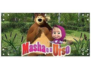 Painel em Lona Masha e o Urso 06