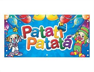 Painel em Lona Patati Patata 01