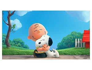 Painel em Lona Snoopy 01