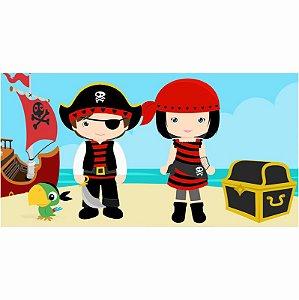 Painel em Lona Piratas 01